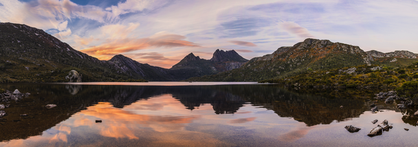 Cradle Mountain and Dove Lake at sunrise.jpg