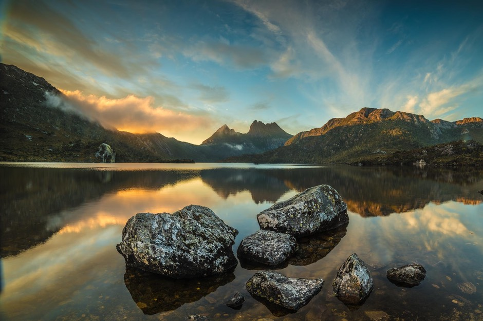Dove lake sunrise