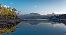 Lake Pedder and Mount Eliza early morning 2