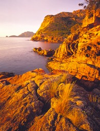 view from sleepy bay freycinet pen 2